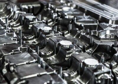 Fabricación de moldes de acero para inyección de aluminio