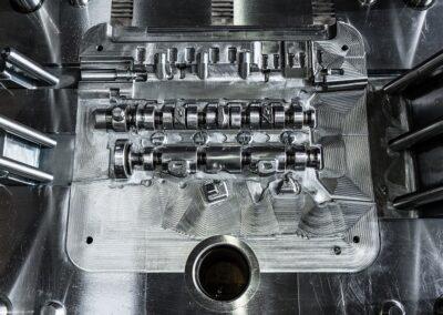 Mecanizado de moldes para inyección